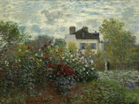 Claude Monet - The Artist's Garden At Argenteuil