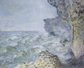 Claude Monet - The Sea At Fecamp 1881