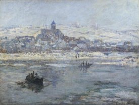 Claude Monet - Vetheuil In Winter 1879