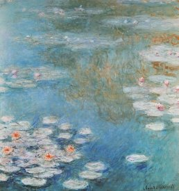 Claude Monet - Waterlilies At Giverny 1908
