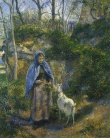 Camille Pissarro - Woman With A Goat 1881
