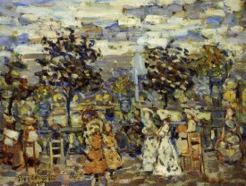 Maurice Brazil Prendergast - In The Luxembourg Gardens