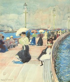 Maurice Brazil Prendergast - South Boston Pier