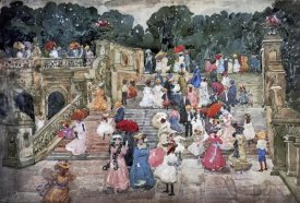 Maurice Brazil Prendergast - The Mall Central Park