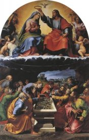 Raphael - Coronation Of The Virgin 2