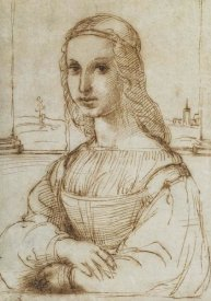 Raphael - Half Length Portrait Of A Woman