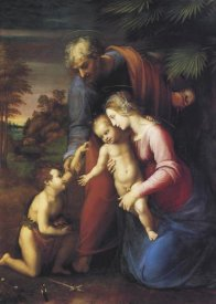 Raphael - Holy Family With St John 2
