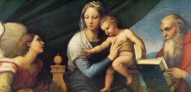 Raphael - Madonna And Child