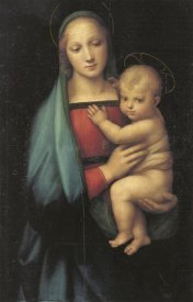 Raphael - Madonna And Child 3