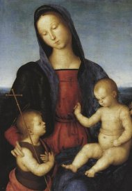 Raphael - Madonna And Child With St John
