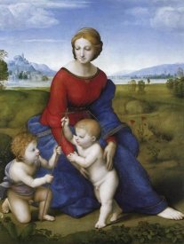 Raphael - Madonna And Child With St John 2