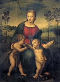 Raphael - Madonna And Child With St John 3