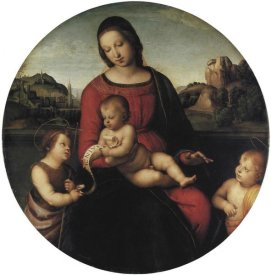 Raphael - Madonna And Child With Two Saints
