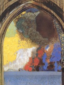 Odilon Redon - The Window