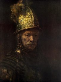 Rembrandt Van Rijn - Man With Gold Helmet