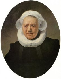 Rembrandt Van Rijn - Portrait Of An 83 Year Old Woman