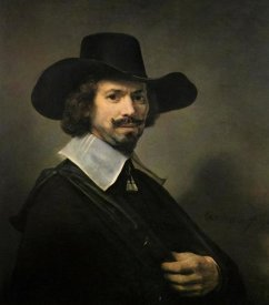 Rembrandt Van Rijn - The Painter Hendrick Martensz