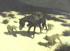 Frederic Remington - Last March