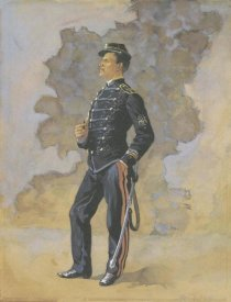 Frederic Remington - Lieutenant Engineer Battalion
