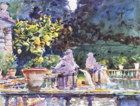 John Singer Sargent - A Fountain