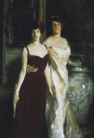 John Singer Sargent - Ena and Betty, Daughters of Asher and Mrs. Wertheimer
