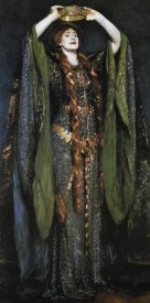 John Singer Sargent - Miss Ellen Terry as Lady Macbeth