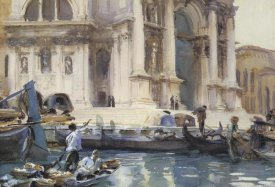 John Singer Sargent - On the Steps of the Salute, 1906