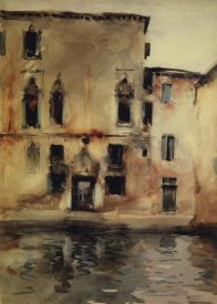 John Singer Sargent - Palazzo Marcello, 1880-81