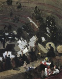 John Singer Sargent - Rehearsal of Pas de Loup Orchestra at Cirque d'Hiver