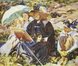 John Singer Sargent - Simplon Pass, the Lesson