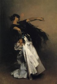 John Singer Sargent - Spanish Dancer 1880-81