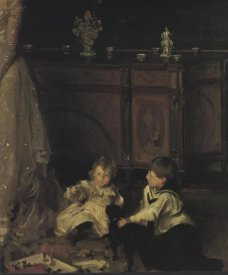 John Singer Sargent - The Sitwell Family (detail)