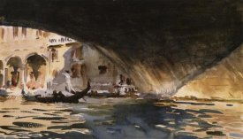 John Singer Sargent - Under the Rialto Bridge, 1909