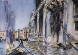 John Singer Sargent - View of the Grand Canal, 1904