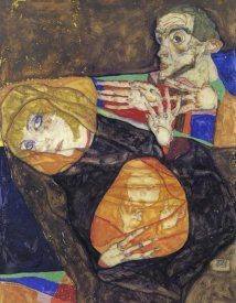 Egon Schiele - Holy Family