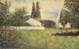 Georges Seurat - House Among Trees