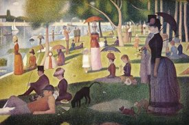 Georges Seurat - Sunday Afternoon On The Island Of La Grande Jatte