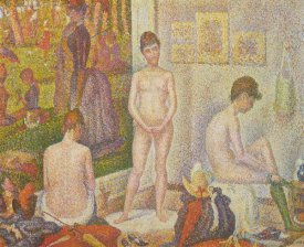 Georges Seurat - The Models