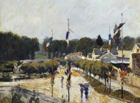 Alfred Sisley - Fete Day At Marly Le Roi