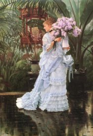 James Tissot - Bunch Of Lilacs