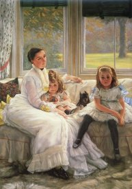 James Tissot - Chapple Gill Family Lower Lea Woolton