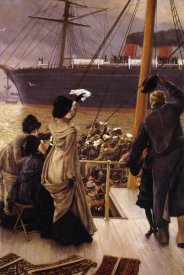 James Tissot - Goodbye On The Mersey