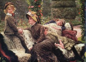 James Tissot - The Garden Bench