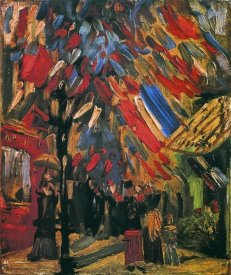 Vincent Van Gogh - July 14th Celebration Paris