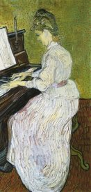 Vincent Van Gogh - Marguerite Gachet At Piano