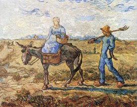 Vincent Van Gogh - Morning Peasant Couple To Work