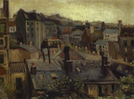 Vincent Van Gogh - Roofs In Paris