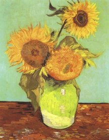 Vincent Van Gogh - Vase With Three Sunflowers