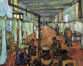 Vincent Van Gogh - Ward Hospital Arles