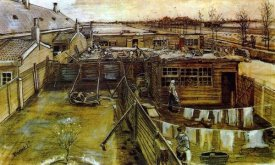 Vincent Van Gogh - Carpenter Workshop Seen From The Artists Studio